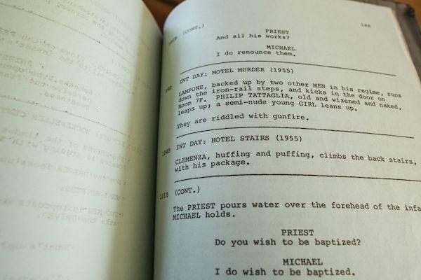 Godfather Script 13