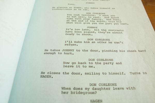 Godfather Script 7