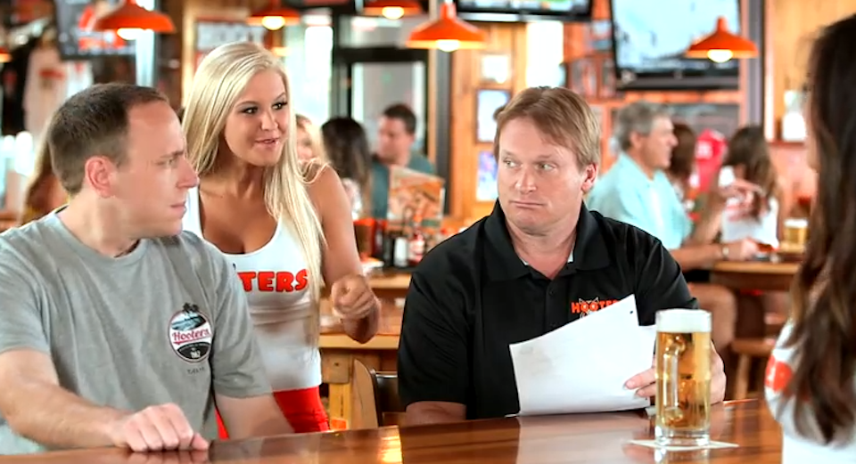 Hooters Worst World Cup Advert