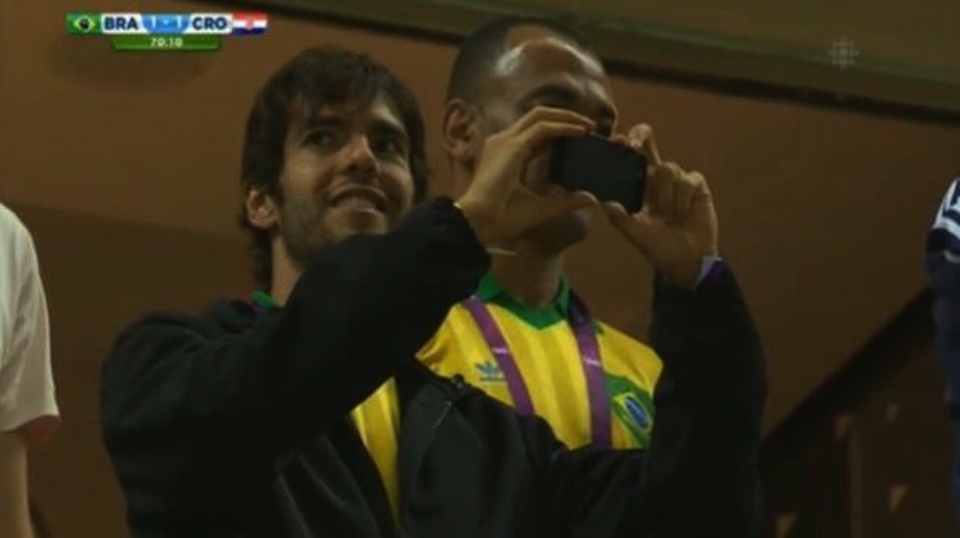 Kaka Video Instagram Neymar Penalty