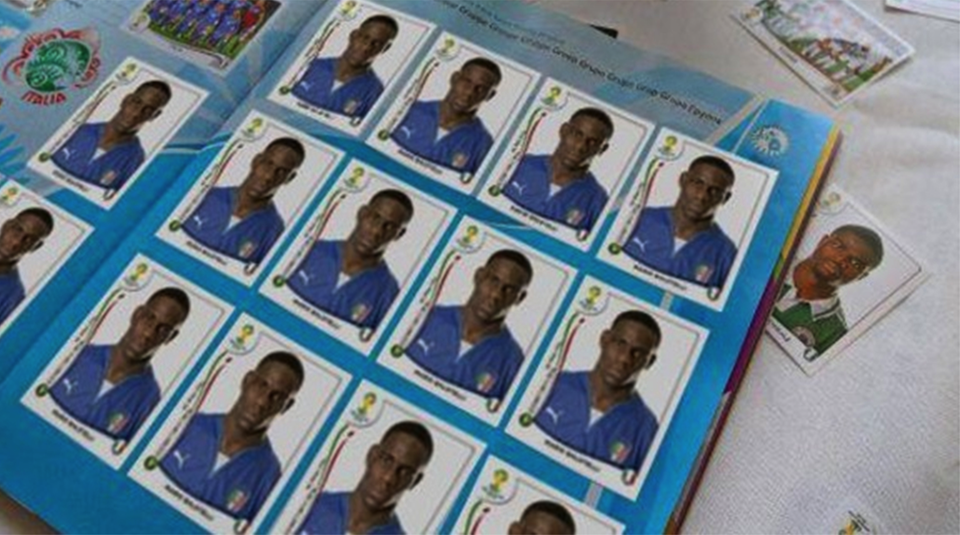 Mario Balotelli Sticker Album