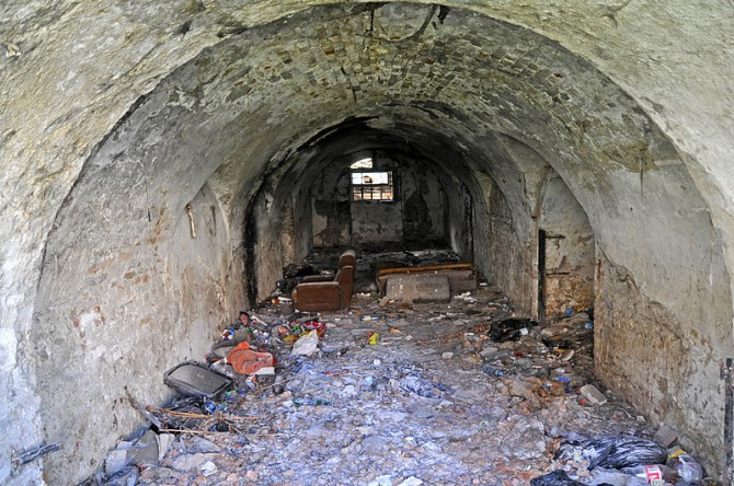 Petrovaradin Fortress EXIT haunted- tunnels 2