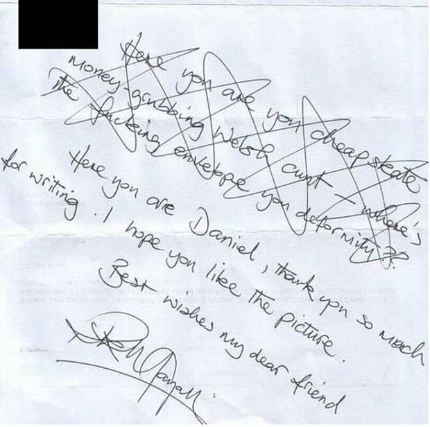 Rik Mayall Autograph