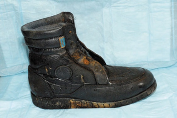 Sasamat Lake - Canadian foot found fisherman