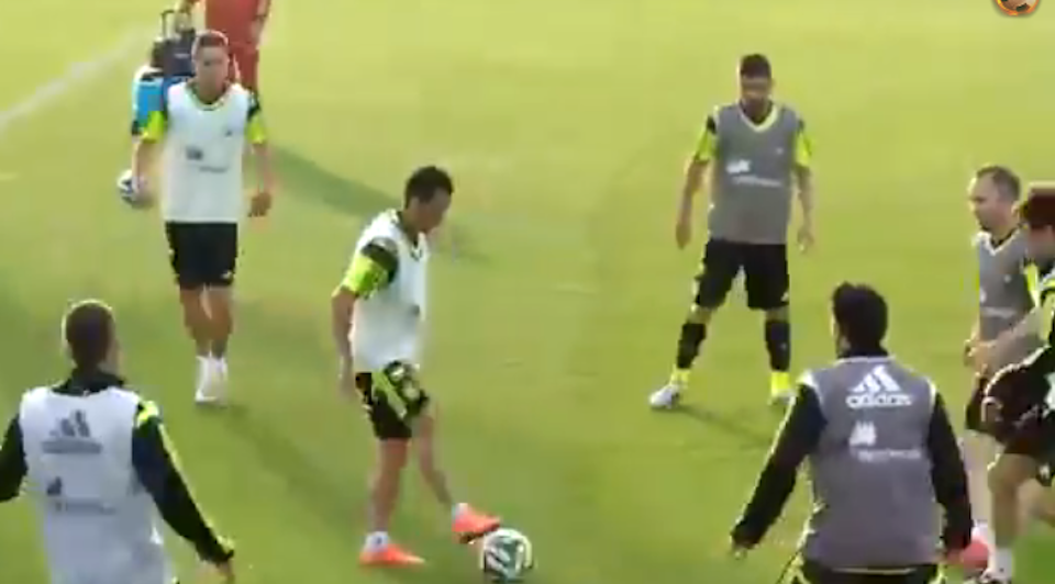 Spain Tiki Taki Training Session