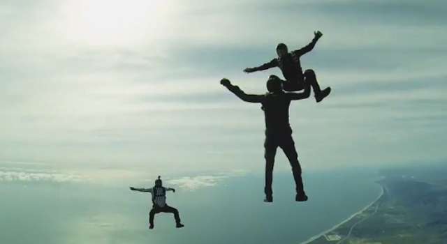 UFC Skydiving