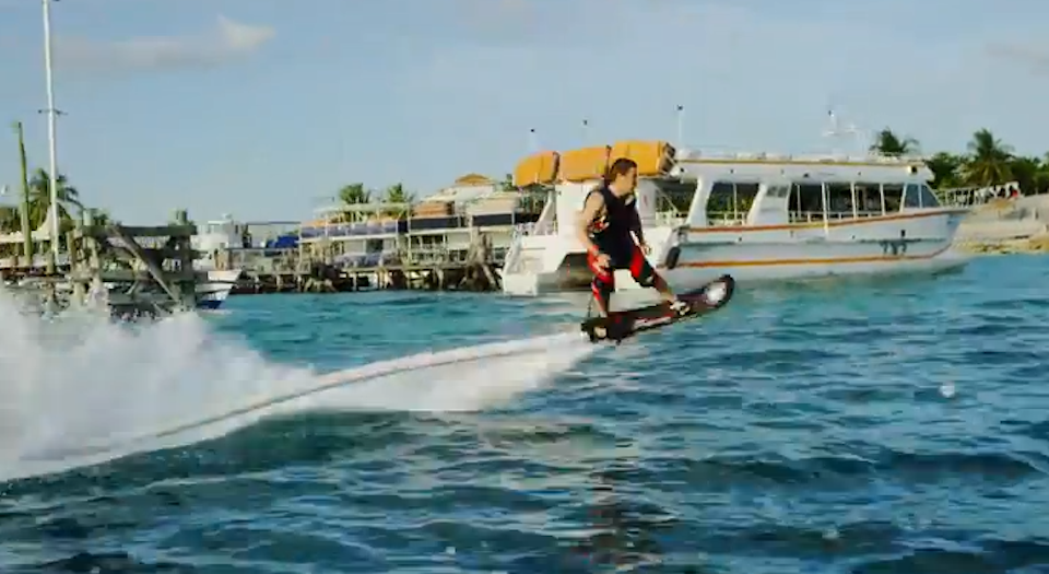 Water Powered Hoverboard