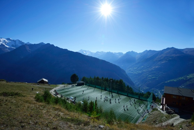 World's Most Amazing Football Pitches 1
