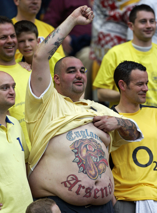 Arsenal FC – Tattoo Picture at CheckoutMyInk.com