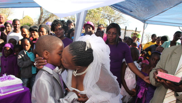 9 Year Old Kid Marries 62 Year Old Woman