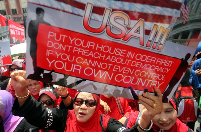 MALAYSIA-ISLAM-UNREST-FILM-US-FRANCE  MAS01