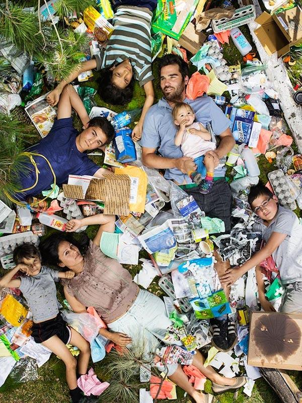 Americans Lying In Trash 1