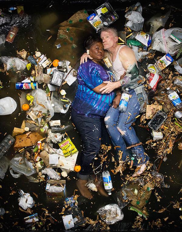 Americans Lying In Trash 10