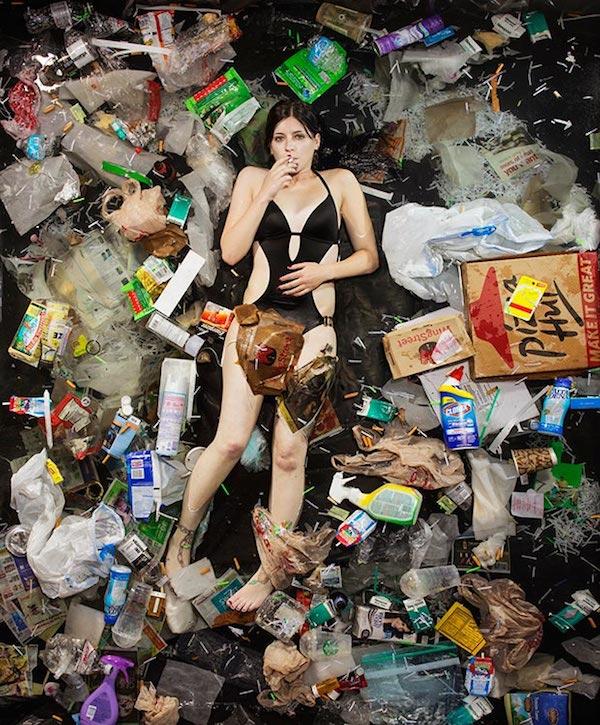 Americans Lying In Trash 11