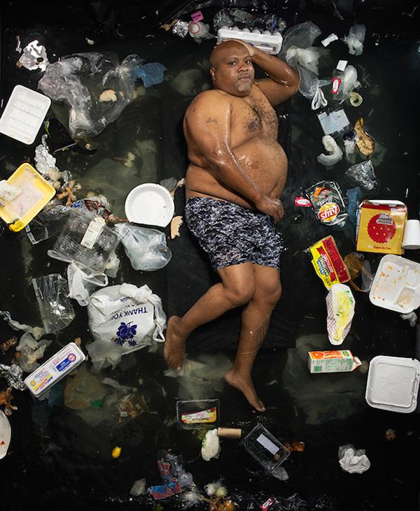 Americans Lying In Trash 12