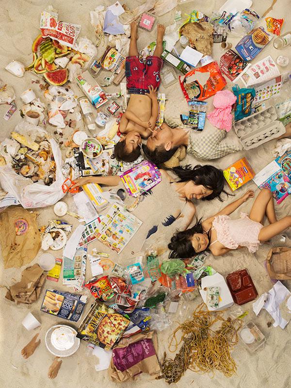 Americans Lying In Trash 3