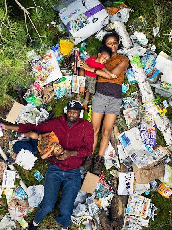 Americans Lying In Trash 4