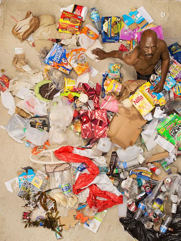 Americans Lying In Trash 5