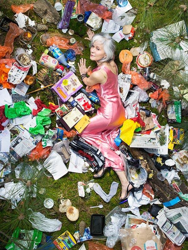 Americans Lying In Trash 7