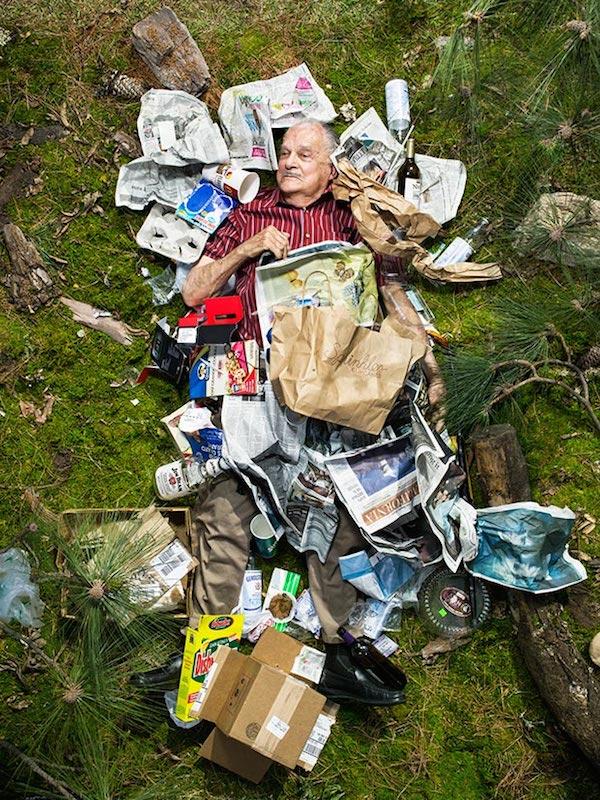 Americans Lying In Trash 8