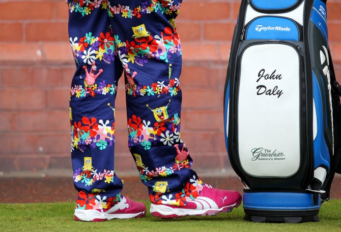 Brave Trousers Bad Pants - Golf John Daly