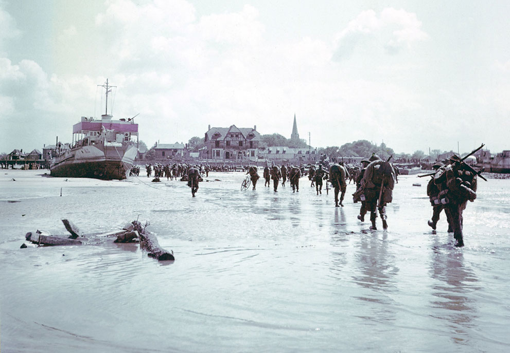 D Day Landings Then And Now 13