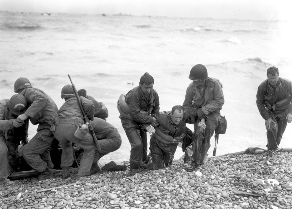 D Day Landings Then And Now 17