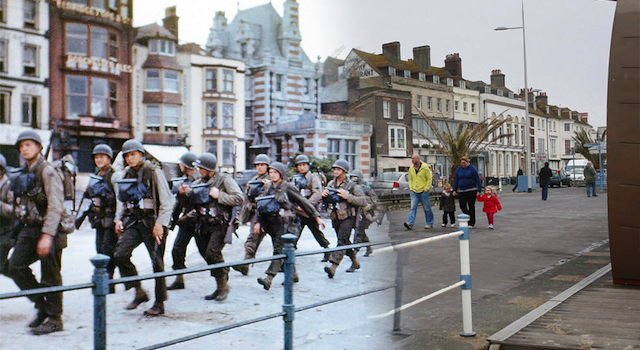 D-Day Landings Then And Now Featured