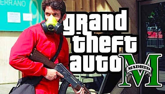 Grand Theft Auto V Madrid