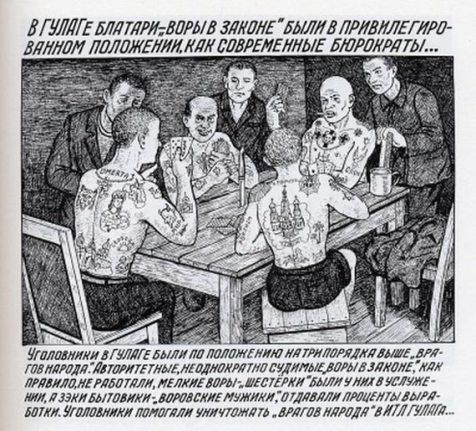 Gulag - Danzig Baldaev - kingpin criminals