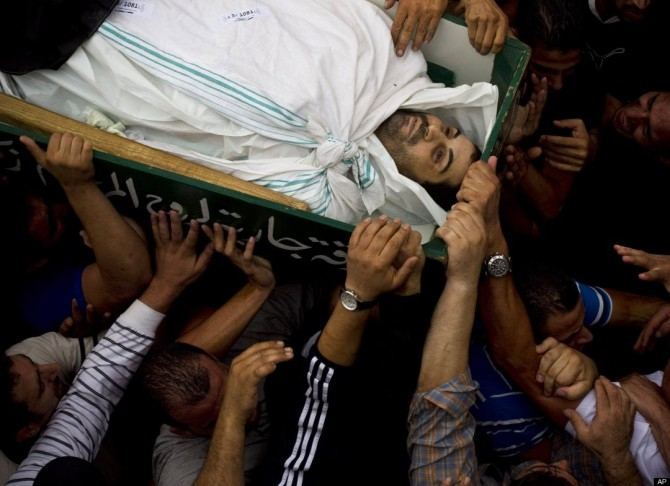 Israel Palestine - death toll 2