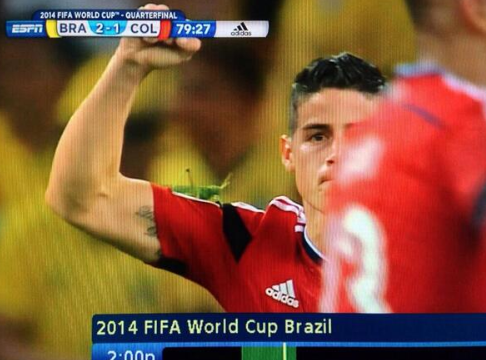 James Rodriguez Insect 2