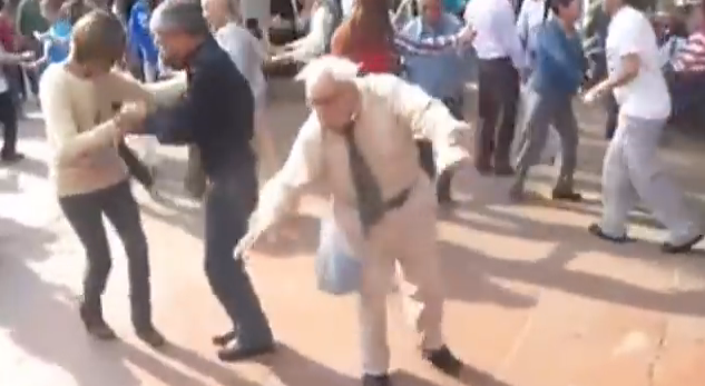 Old Man Dancing