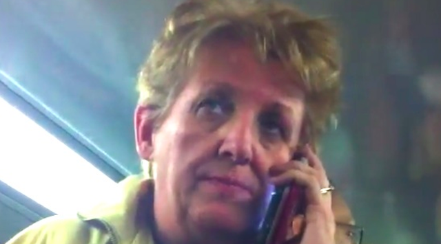 Scumbag Racist Australian Woman