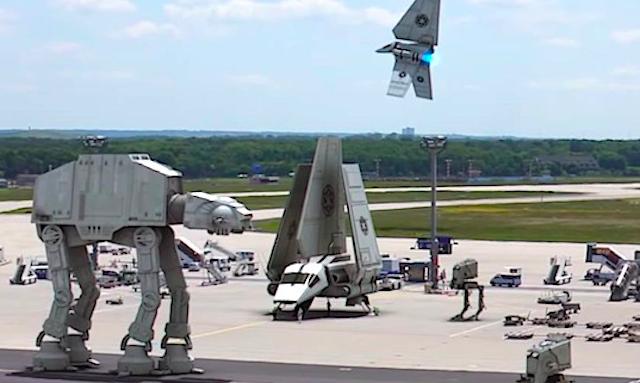 Star Wars German Airport