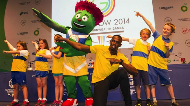 Usain Bolt Commonwealth Games