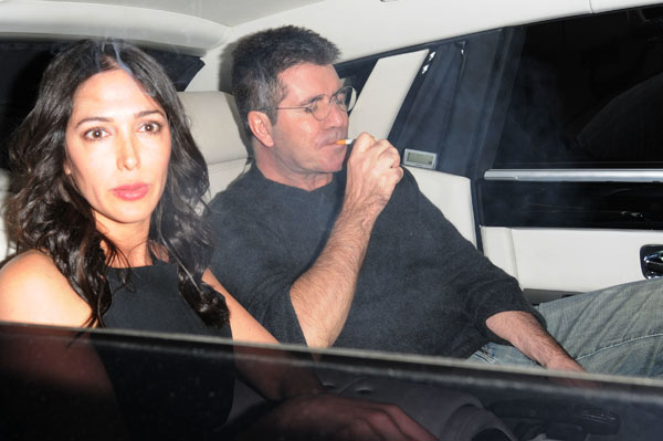 Simon Cowell at Mousetrap