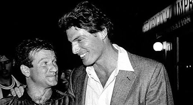 Christoper Reeve And Robin Williams