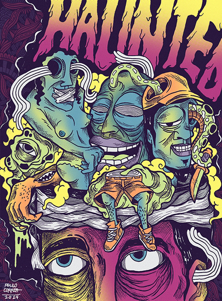 Chuck Palahniuk Gig Posters 5