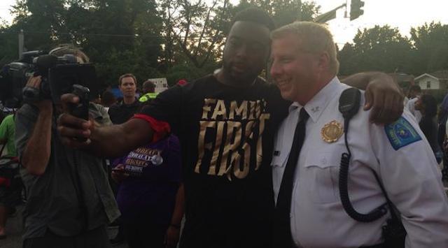 Ferguson Selfies