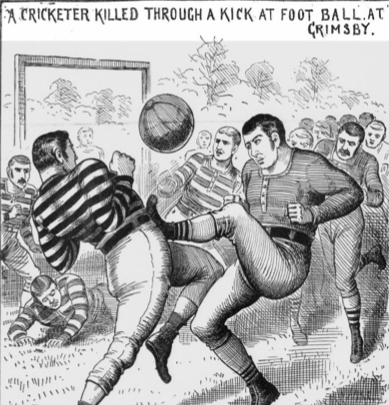 Footballers Died Playing - William Cropper