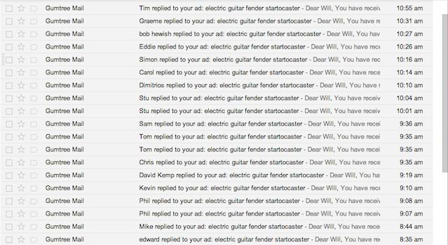 Gmail inbox full