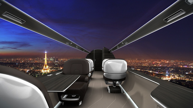 IXION Windowless Plane