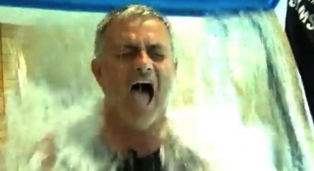 Jose Mourinho Ice Bucket Challenge