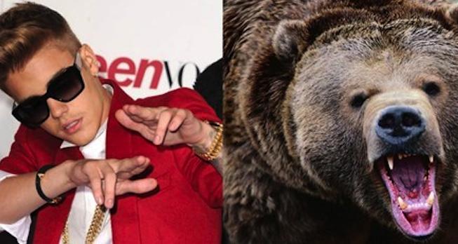 Justin Bieber Bear