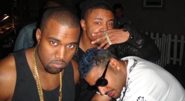 Kanye West DJ Mano