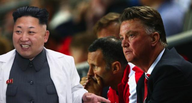 Kim Jong Un Manchester United