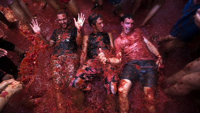 La Tomatina Featured