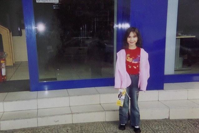 Lolita Richi - Ukraine Barbie as a child young