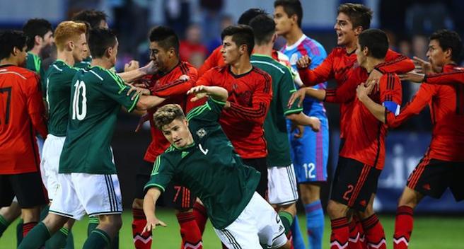 Mexico V Ireland U20